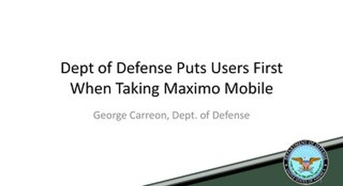Mobile Informer at Dept of Defense
