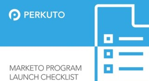 Marketo Program Launch Checklist