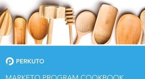 The Marketo Program Cookbook