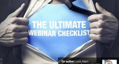 The Ultimate Webinar Checklist