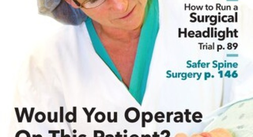 Would You Operate On This Patient? - October 2015 - Subscribe to Outpatient Surgery Magazine