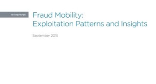 Fraud Mobility: Exploitation Patterns and Insights