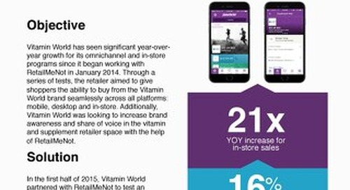 Vitamin World Case Study