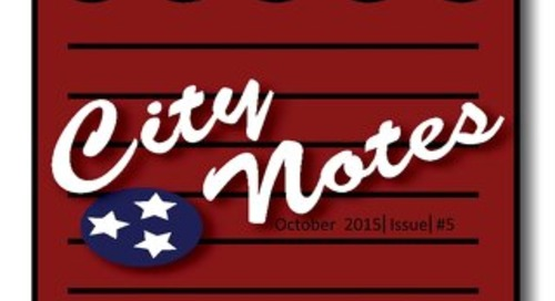 October 2015  City Notes