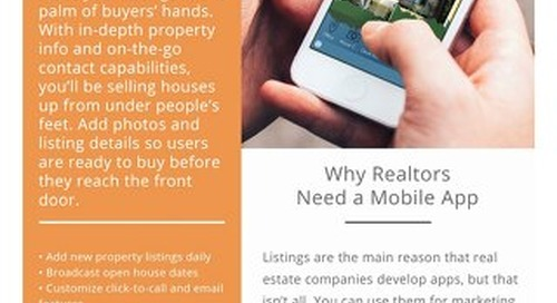 Why Every Realtor Needs a Mobile App