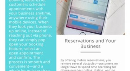 How a Mobile Reservation System can Benefit your Business