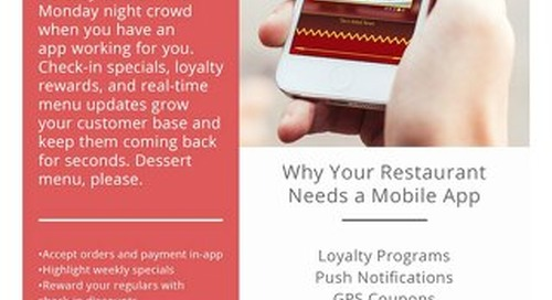 How Restaurants can Benefit From Mobile Apps
