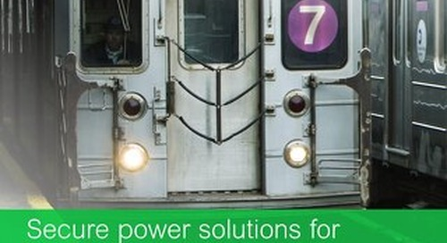 Railway and Subway Solutions