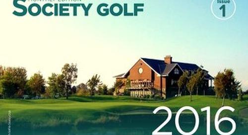 Society Golf - Issue 1