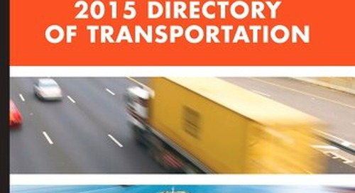 2015 Directory of Transportation Volume 2