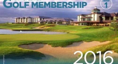 Golf Membership Monthly - Issue 1