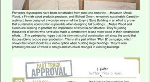 Timber & Forestry E News Issue 395