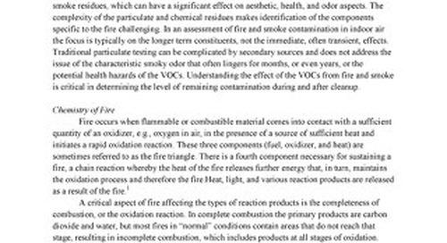Delia_Evaluating Fire and Smoke Contamination in Indoor Air