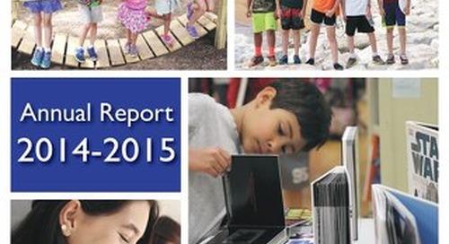 Barnesville School of Arts & Sciences 2014-2015 Annual Report