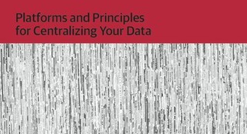 Integrated Analytics: Platforms and Principles for Centralizing Your Data 2016 - O'Reilly