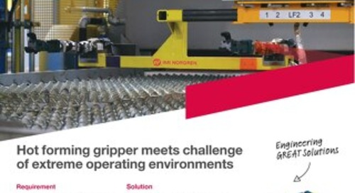 Hot Metal Gripper case study