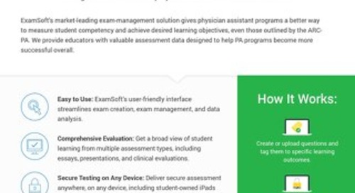 ExamSoft for Physician Assistant Programs