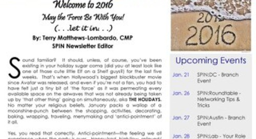 January 2016 SPIN:News