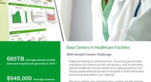 [Healthcare Case Study] Prefabricated Data Centers