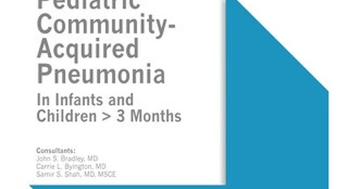 Pediatric Community-Acquired Pneumonia