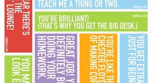 Teacher Appreciation Print-n-Post