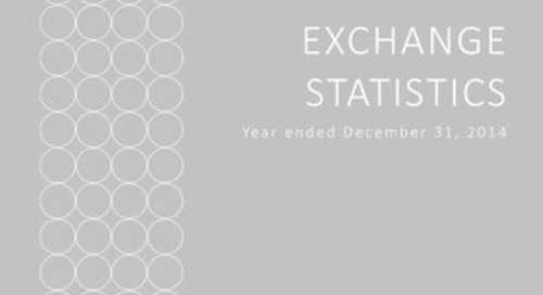 Report of Key Operating Exchange Statistics Year Ended December 31, 2014