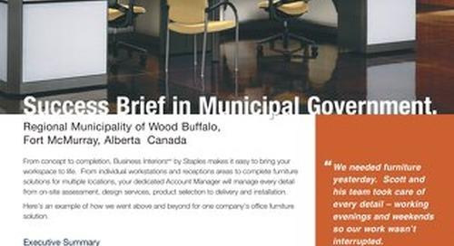 Municipal Wood Buffalo Case Study