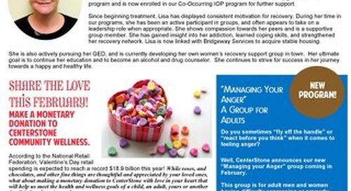 Centerstone Community Wellness February 2016 NewsBrief