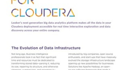 Looker for Cloudera