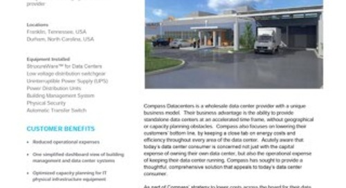 [Case Study] Compass Datacenters delivers a more efficient and cost-effective solution for customers