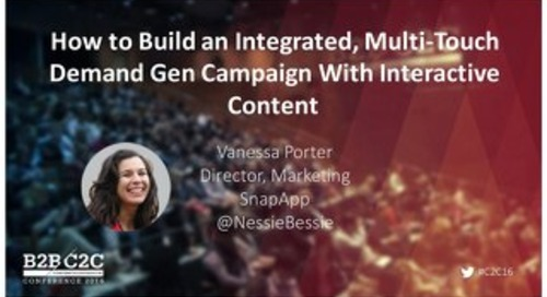 C2C 2016: Interactive Content Presentation