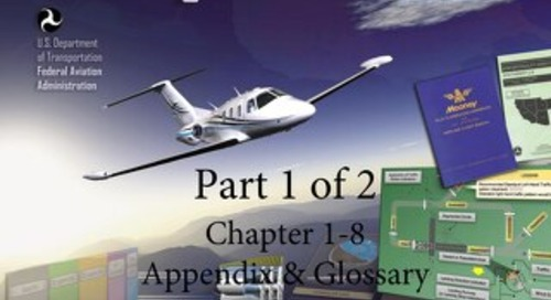 Pilot's Handbook of Aeronautical Knowledge Free Download Part 1