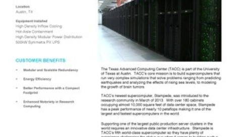 [Case Study] TACC - Building the Ultimate Science Environment