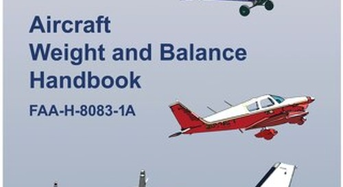 Weight Balance FAA Free Download PDF