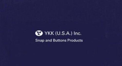 YKK® fasteners snap and button catalog <Industrial>