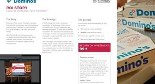 Yieldify case study - Domino's Pizza
