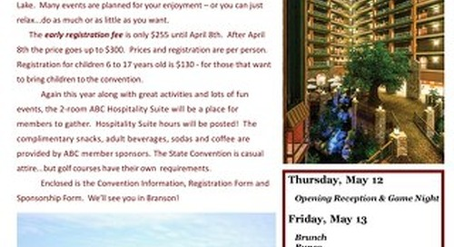 2016 ABC State Convention Registration Form