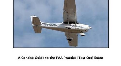 Private Pilot  Check Ride Oral Guide-Free Download