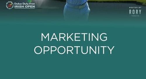 The 2016 Irish Open - Marketing Campaign - My Golf Group