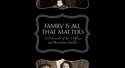 FAMILY IS ALL THAT MATTERS by Lev Volftsun