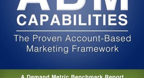 High Performance ABM Capabilities Benchmark Study Report