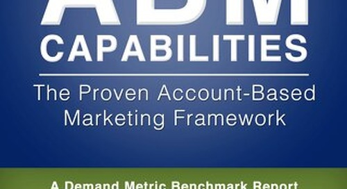 High Performance ABM Capabilities Benchmark Study Report