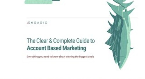 Engagio's Clear and Complete Guide to ABM