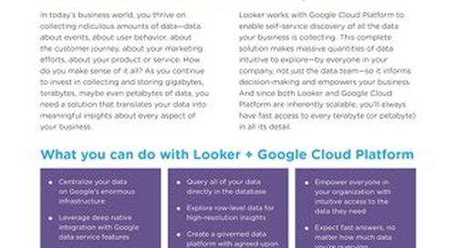 Looker for Google Cloud Platform