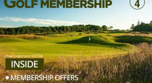Golf Membership Digital Magazine - Issue 4