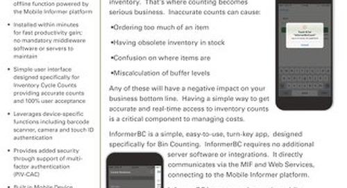 InformerBC Data Sheet