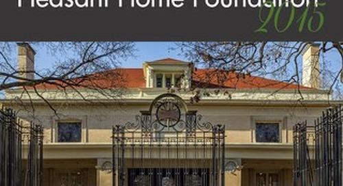 Pleasant Home Annual Report 2015