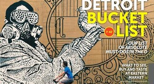 Visit Detroit Spring & Summer 2016