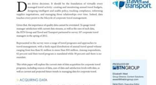 Data That Matters