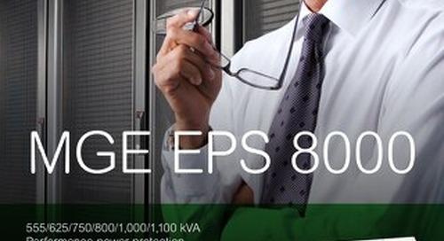 MGE EPS 8000 Brochure